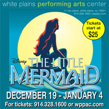 The Little Mermaid at White Plains Performing Arts Center