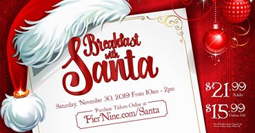 Anthonys Pier 9 Christmas Breakfast With Santa 2020 Breakfast with Santa   Anthony's Pier 9   Kids Out and About
